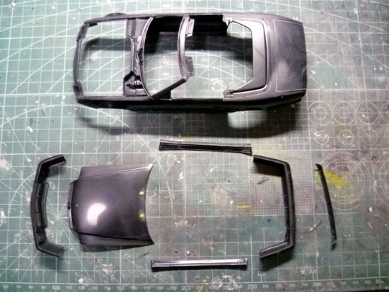 AMG 500SL 製作記_3