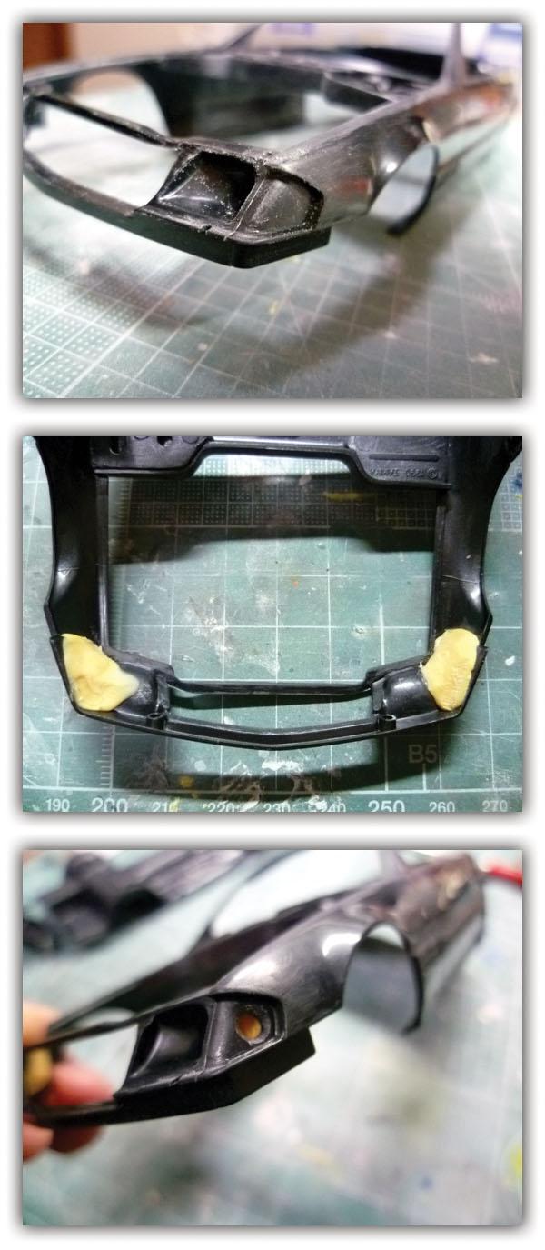 AMG 500SL 製作記_4