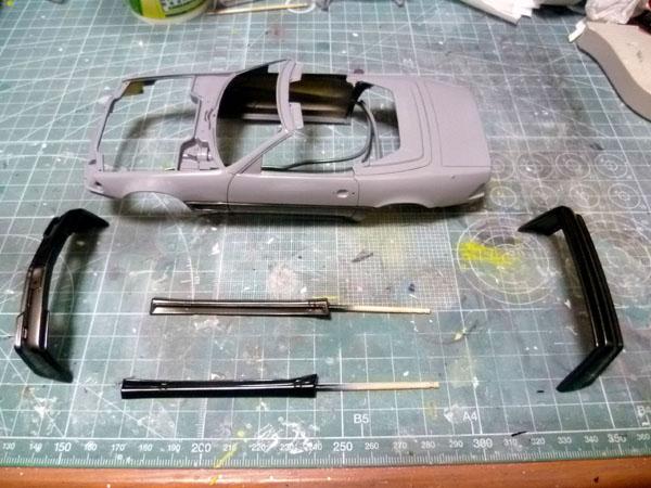 AMG 500SL 製作記_5