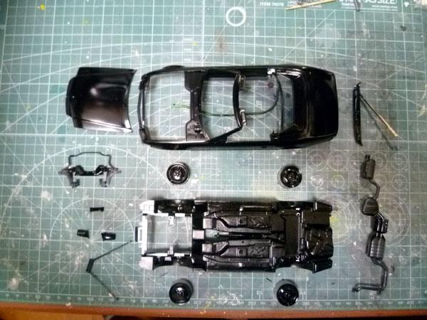 AMG 500SL 製作記_6