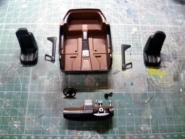 AMG 500SL 製作記_12