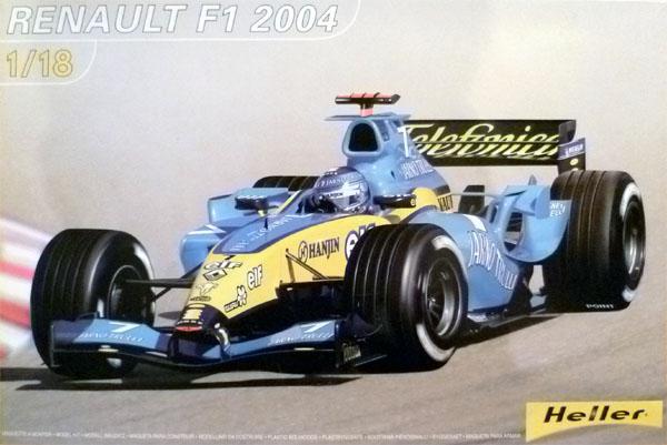 RENAULT F1 2004 製作記_1