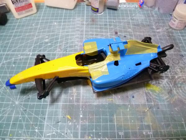 RENAULT F1 2004 製作記_2